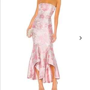 Lovers & Friends Urgonia Floral Gown in Pink Tonal